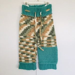 Baby Crocheted Pants with Drawstring 6-12 months